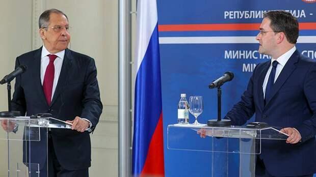 Лавров: «Поддержим каждое предложение Сербии по Косово»