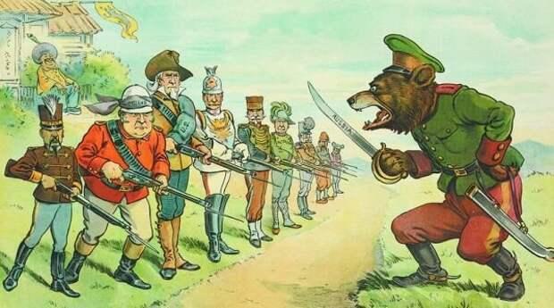 """Вся """"просвещенная христианская Европа"""" ополчилась на Россию"""