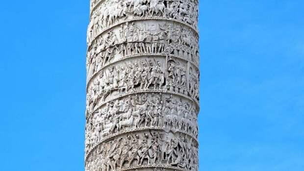Воины с колонны Марка Аврелия