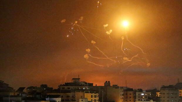 Израиль заявил о перехвате более 1000 ракет, запущенных из сектора Газа