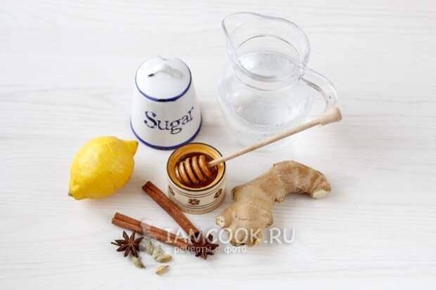 Ингредиенты для медового сбитня в домашних условиях