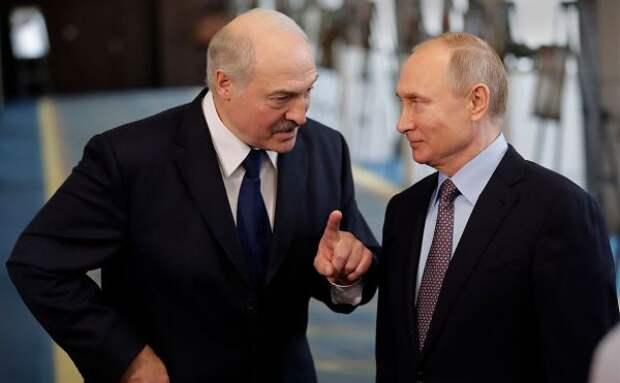 СМИ: Лукашенко встретится сПутиным доконца мая