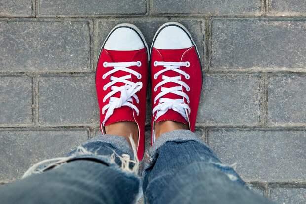 как отбелить белые шнурки в домашних условиях