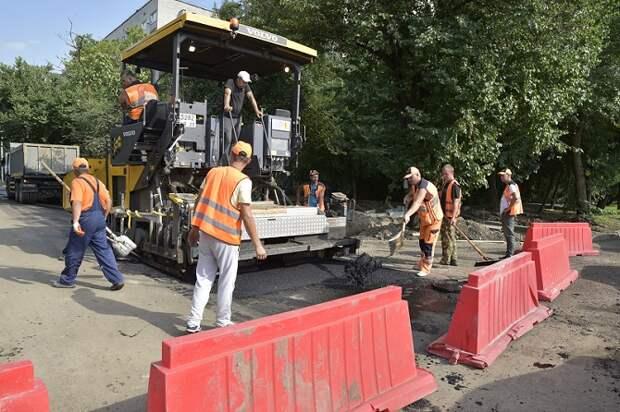Две улицы в Краснодаре отремонтируют за счет экономии