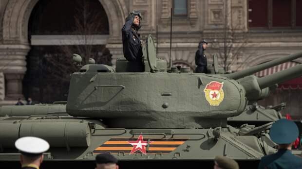 Депутаты Бундестага посетили военный парад в Москве