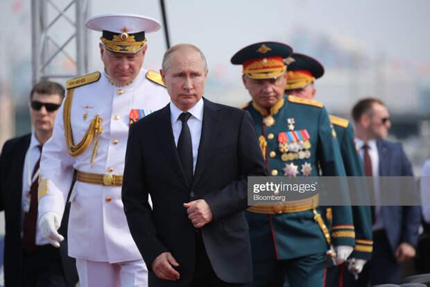 О внезапно открывшейся силе России