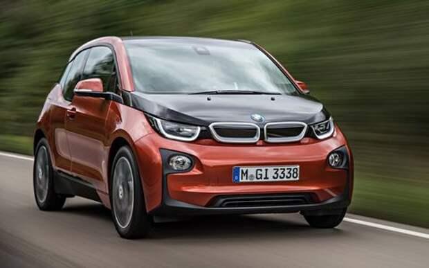 BMW продлит жизнь электрическому хэтчбеку i3