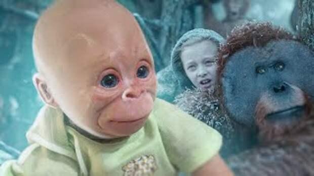 Гибрид человека и обезьяны получили генетики.