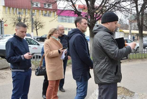 По улицам Твери прошла специальная рабочая группа