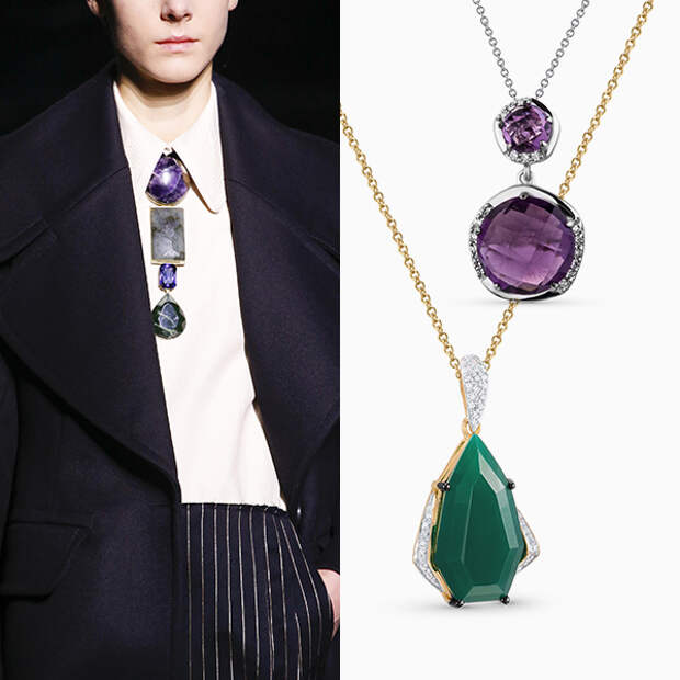003 small 1 Драгоценный тренд сезона: <br> украшения с крупными и очень крупными камнями