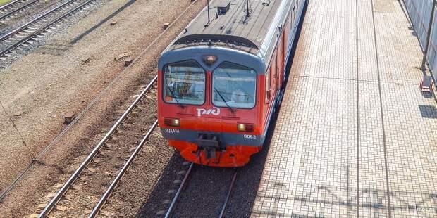 Несколько электричек проследуют от станции «Останкино» по измененному расписанию