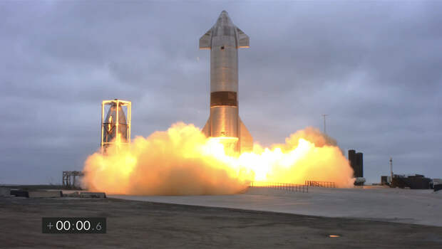 SpaceX успешно запустил прототип ракеты-носителя Starship SN15