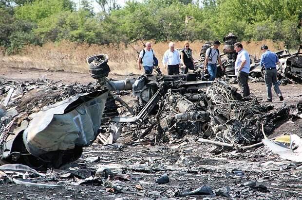 Версии о причинах крушения самолета расходятся. 18 июля 2014 года президент США Барак Обама со ссылкой на данные американских спецслужб заявил, что Boeing был сбит ополченцами с помощью ракеты «земля-воздух», а именно  из зенитно-ракетного комплекса «Бук»