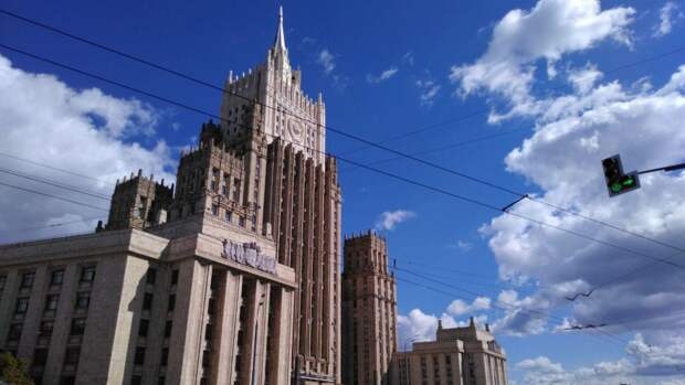 В российском МИД сообщили о визите замглавы посольства США