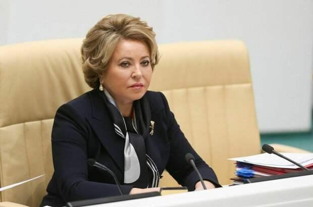Матвиенко назвала прошедшие выборы демократичными и легитимными