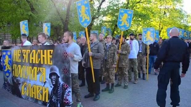 По Киеву пройдет шествие бандеро-нацистов в честь дивизии СС «Галичина»