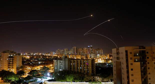 Израиль обстреляли из Газы