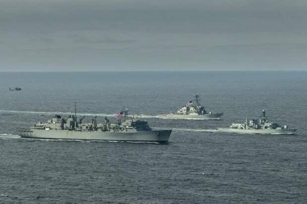 Sohu: Москва жестко ответила на заход в Баренцево море кораблей США