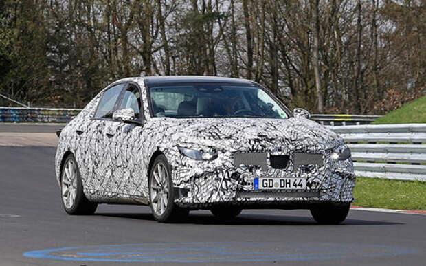 Новый Mercedes-Benz C-класса станет гладким и гибридным