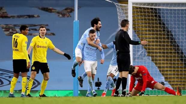 Украденный гол, отмененный пенальти и развязка на последних минутах. «Сити» и «Боруссия» выдали мощный матч в ЛЧ