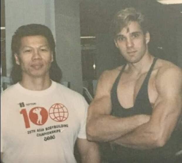 Боло Йен и Гэри Дэниелс в молодости, фото с facebook.com/therealgarydaniels