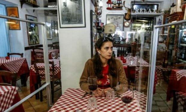 Итальянцы показали как будут выглядеть рестораны после ослабления карантина