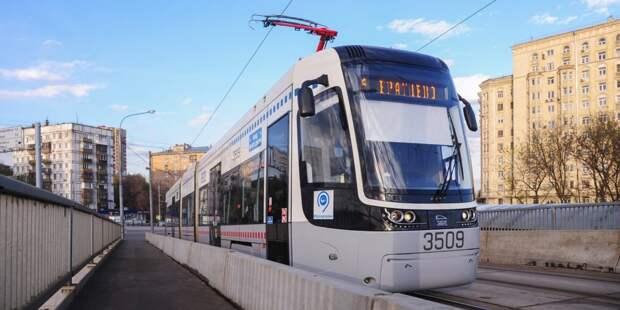 На Лодочной вместо трамваев № 6 временно пустили автобусы