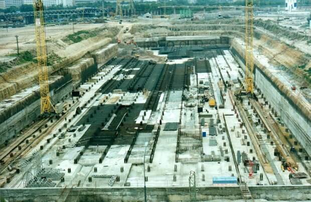 Строительство Москва-сити, 1999 год