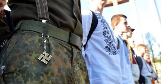 Зеленский и нацисты: по Киеву прошел «марш вышиванок» в честь дивизии СС «Галиция»