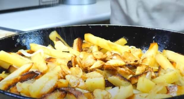 Как пожарить картошку, чтобы просили еще. Все секреты приготовления и пошаговый рецепт