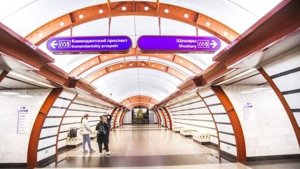 Составлен рейтинг самых загруженных линий петербургского метро