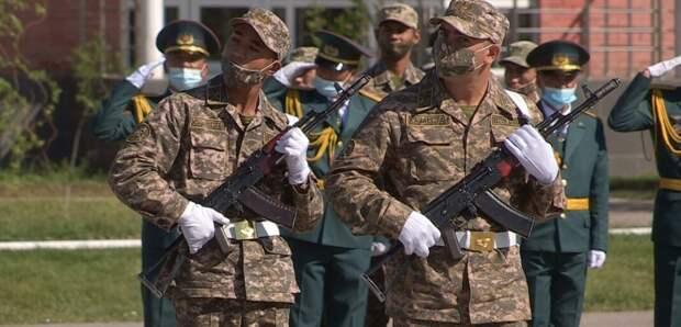 Чем кормят солдат в Шымкентской воинской части 35748