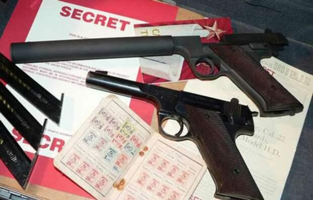 Пистолет для ЦРУ: оружие, которые должно было помочь американцам против советских разведчиков