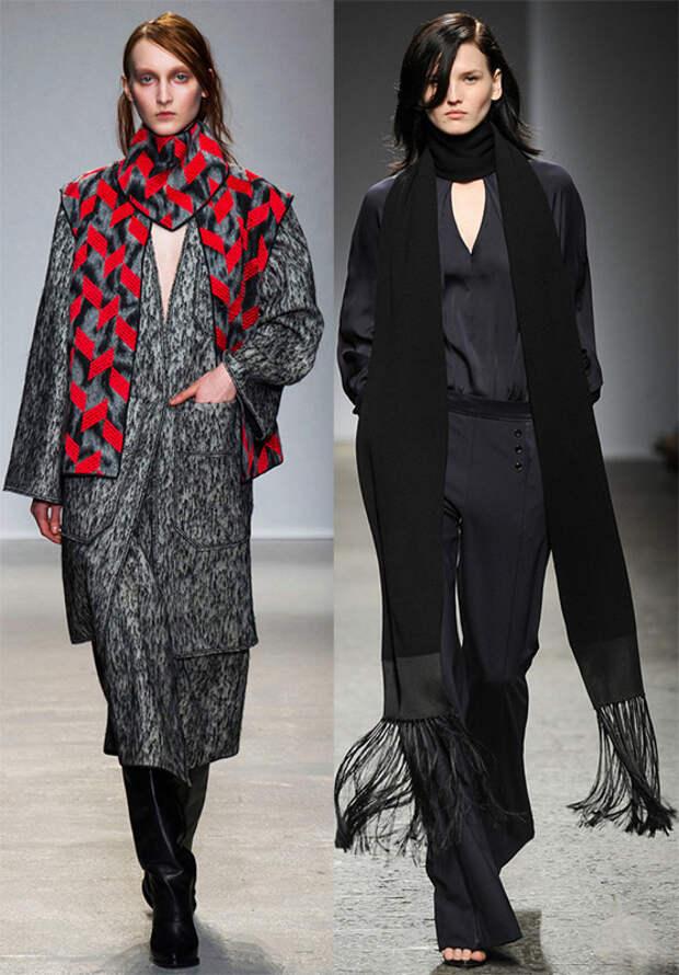 Модные шарфы 14-15