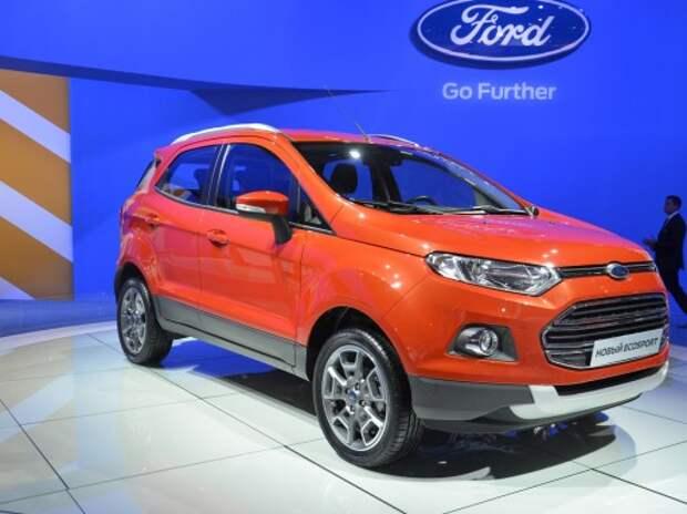 Ford EcoSport едет забирать «свое» в сегменте компактных кроссоверов