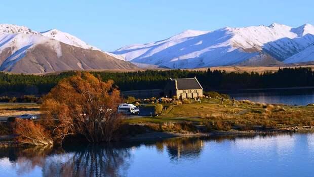 NewPix. ru - Удивительная красота озера Текапо в Новой Зеландии (Lake Tekapo)