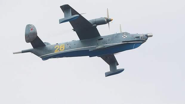 Бе-12— старейшийсамолет, находящийся на вооружении российского флота