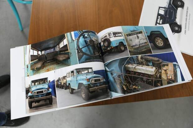 У каждого клиента есть фотоотчет о том, какой была машина и какой она стала toyota, toyota land cruiser, авто, автомир, автомобили, олдтаймер, реставрация
