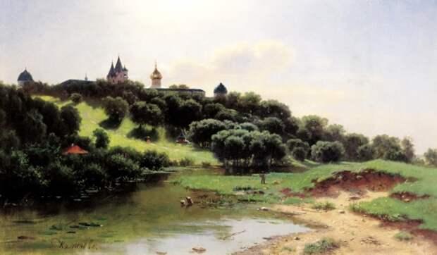 Русский художник Каменев Лев Львович (1831-1886) (55 работ)