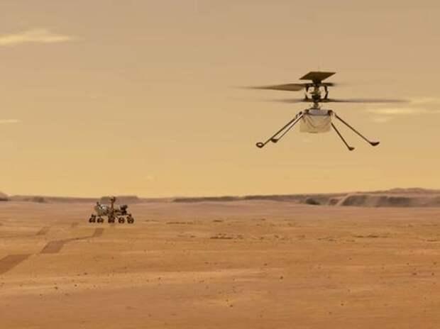 В NASA заявили, что впервые получили кислород на Марсе