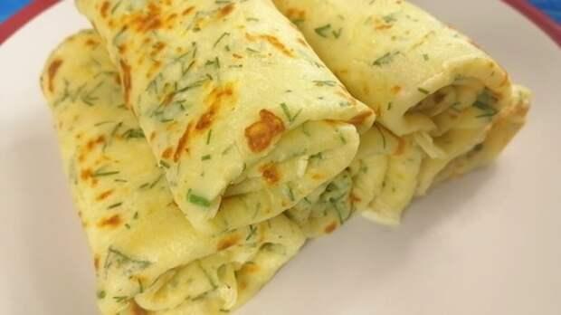 Тонкие картофельные блины с чесноком и зеленью. Вкуснее, чем знаменитые драники!
