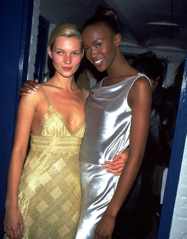 Girls Power: дружба Кейт Мосс и Наоми Кэмпбелл в 20-ти фотографиях | галерея [1] фото [6]