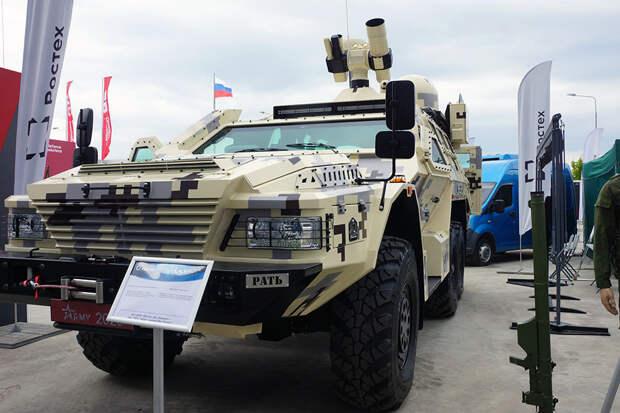 """Лазерный комплекс """"Рать"""" впервые представили на форуме """"Армия-2020"""""""