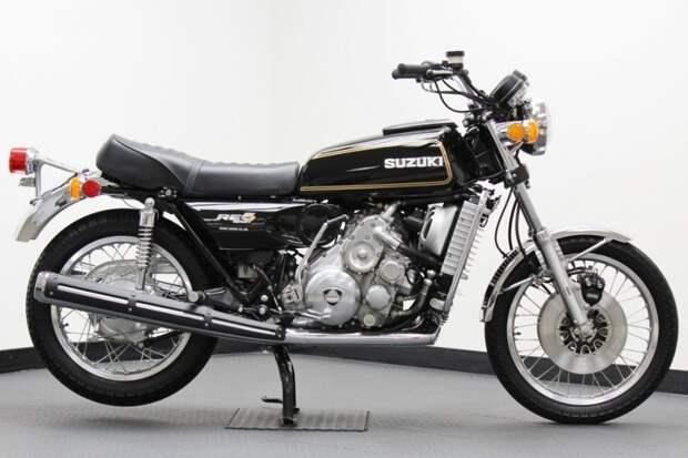 Вневременной дизайн классического мотоцикла suzuki, мото, мотоцикл, рпд