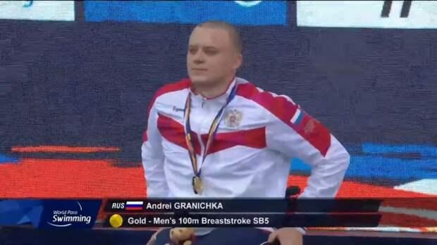 Студент-паралимпиец из КФУ побил мировой рекорд по плаванию