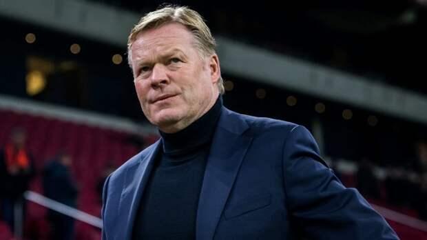 Куман прокомментировал поражение «Барселоны» от «Сельты»