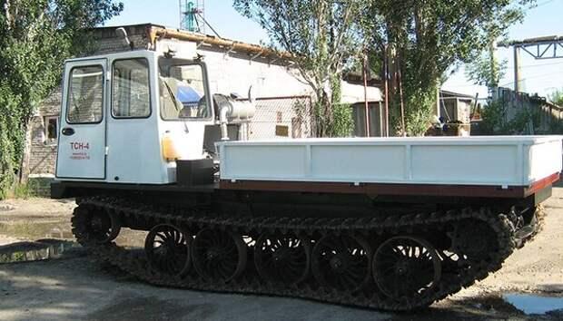 Транспортный трактор ТСН-4