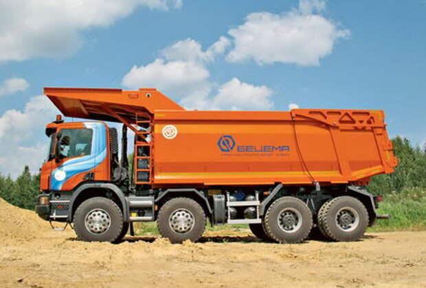 Scania P440 CB8X4 EHZ — для разрезов и карьеров