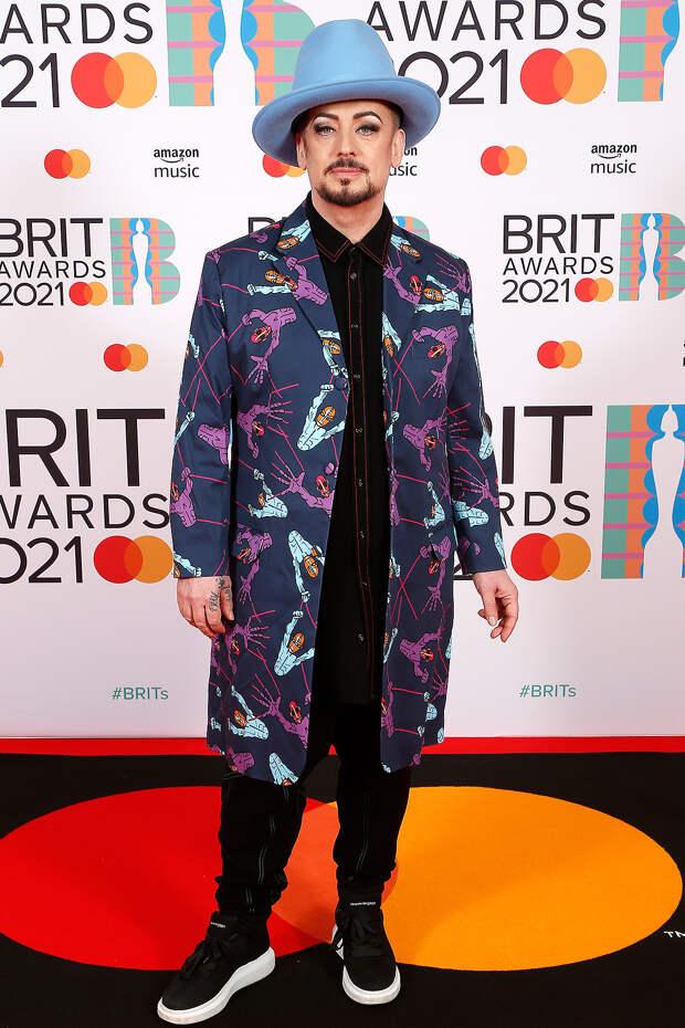 Бой Джордж BRIT Awards 2021