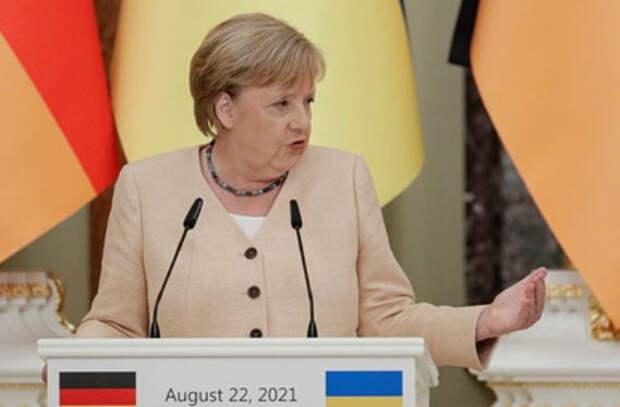Меркель назвала сроки отказа Европы от российского газа